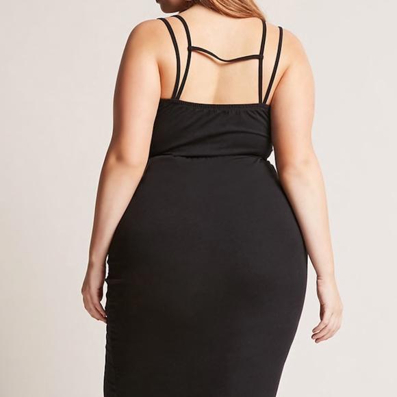 REBDOLLS INC. PLUS SIZE LBD Bodycon Dress (NWT) NWT